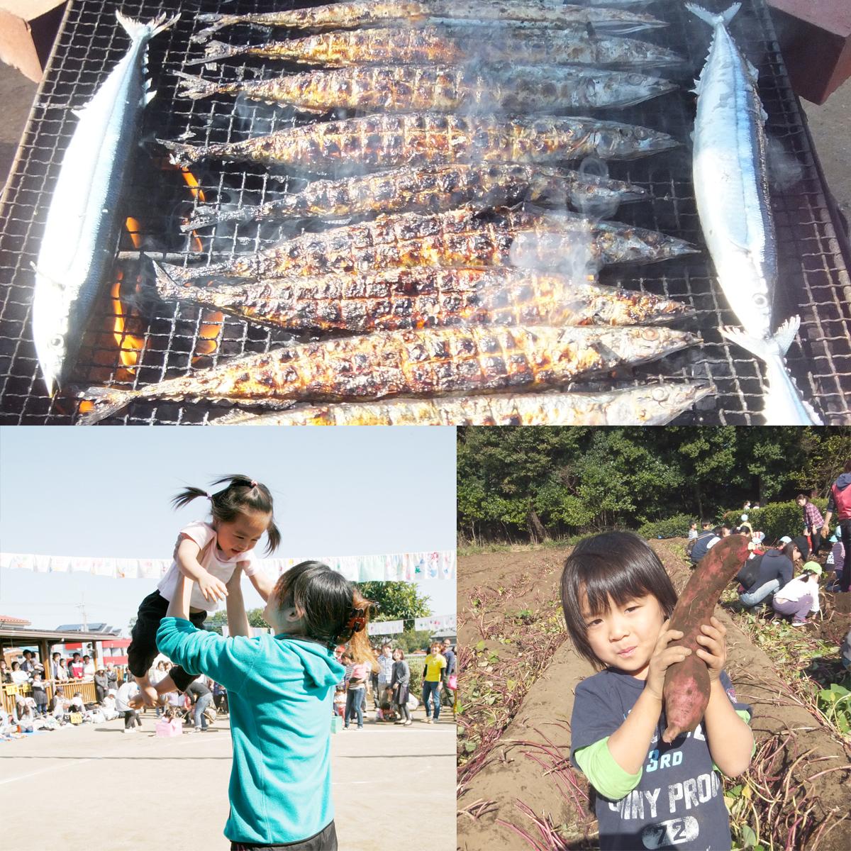 あかね保育園の年間のイベントと行事の10月の画像