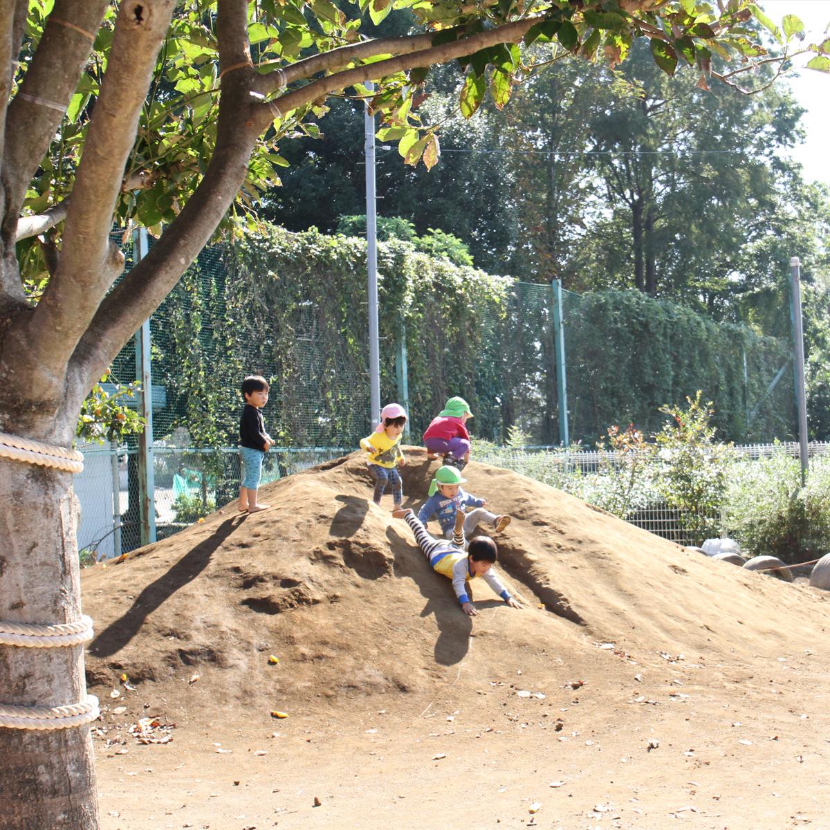 所沢市のあかね保育園の午後の遊びの画像