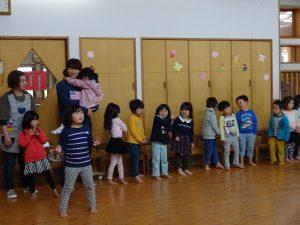 所沢市にあるあかね保育園で開かれたお別れ会の画像