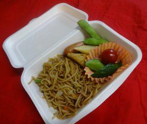 所沢市にあるあかね保育園で行われた給食縁日の画像