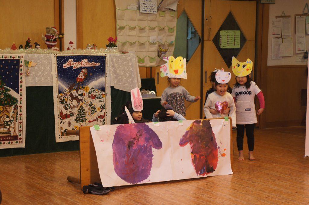 所沢市にある、あかね保育園で行われたクリスマス会の画像
